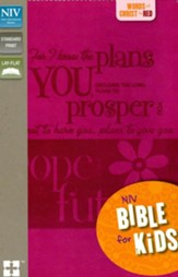 NIV Thinline Bible for Kids, Duo-Tone Pnk