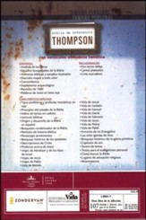 Biblia de Ref. Thompson RVR 1960, Duotone Gris/Lila  (Thompson Chain Reference Bible, Duotone Gray/Lila)