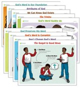 Answers Bible Curriculum Grades 2-5 Unit 1 Lesson Theme Posters (2nd Edition)