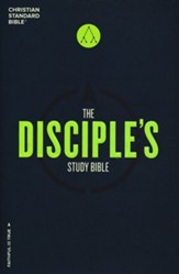 CSB Disciple's Study Bible, Hardcover
