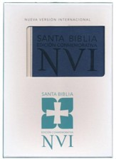 Santa Biblia NVI Ed. Conmemorativa, Piel Imitada  (NVI Deluxe Larger Text Bible, Soft Leather-Look)
