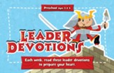 Buzz: Preschool To the Rescue! Leader Devotions, Spring 2019