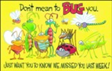 Bugs Postcard, Package Of 25