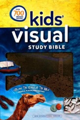 NIV Kids' Visual Study Bible, Imitation Leather, Bronze - Imperfectly Imprinted Bibles