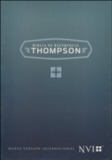 NVI Biblia de Referencia Thompson (Thompson Chain Reference Bible, Bonded Leather, Tan)
