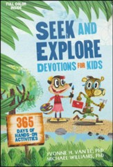 Seek and Explore Devotions for Kids - Slightly Imperfect