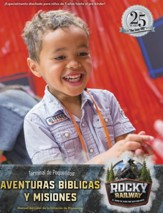 Rocky Railway: Little Kids Depot Bible Adventures & Missions Leader Manual (Spanish)