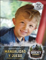 Rocky Railway: Little Kids Depot Craft & Play Leader Manual (Spanish)