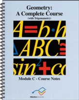 VideoText Geometry Module C Course Notes