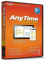 Anytime Organizer Deluxe 16 on CD-ROM