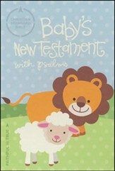 CSB Baby's New Testament with Psalms, White Imitation Leather