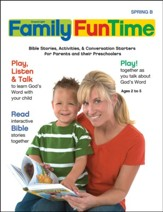 Gospel Light: Preschool-Kindergarten Family FunTime Pages, Spring 2019 Year B