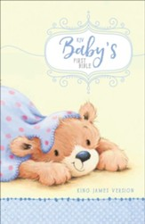 KJV Baby's First Bible Blue, Hardcover