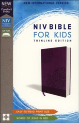 NIV Bible for Kids, Imitation Leather, Purple