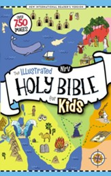 NIrV Illustrated Holy Bible for Kids, hardcover