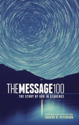 The Message 100 Devotional Bible: The Story of God in Sequence - eBook