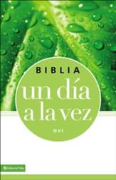 NVI Biblia Un Dia a la Vez, Piel  Imit. (NVI Once-A-Day Bible, Imitation Leather Blue/Green)