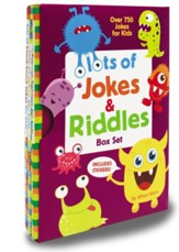 Lots of Jokes and Riddles Box Set, 3 Books