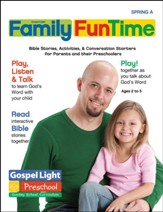 Gospel Light: Preschool - Kindergarten Family FunTime Pages, Spring 2020 Year A
