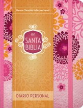 Santa Biblia NVI, Ed. Diario Personal, Rosa  (NVI Holy Bible, Journal Edition, Rose)