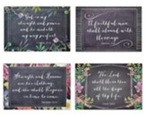Chalkboard Blessings, Birthday Cards, Box of 12