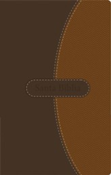 NVI Thinline Bible--soft leather-look, brown