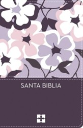 Santa Biblia NVI, Ultrafina Compacta, Flores (NVI Thinline Compact Bible--soft leather-look, floral)
