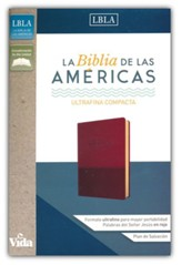 Biblia Ultrafina Compacta LBLA, Piel Imit. Vino  (LBLA UltraThin Compact Bible, Soft Leather-Look, Burgundy)
