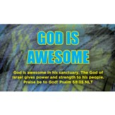 God is Awesome Scripture Cards, Pack of 25