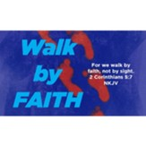 Walk by Faith Scripture Cards, Pack of 25