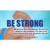 Be Strong Scripture Cards, Pack of 25