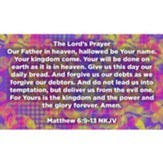 The Lord's Prayer Scripture Cards, Pack of 25