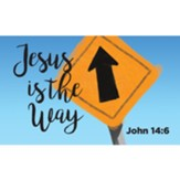 Children and Youth Scripture Cards, Jesus is the Way, John 14:6, Pack of 25