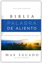 Biblia NVI Palabra de Aliento de Max  Lucado, Tapa Dura, Gris    (NVI Lucado Encouraging Word Bible, Hardcover, Gray)