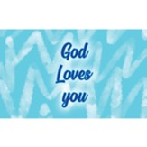 Children and Youth Scripture Cards, God Loves You, Pack of 25