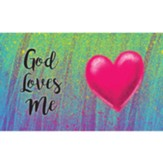 Children and Youth Scripture Cards, God Loves Me, Pack of 25