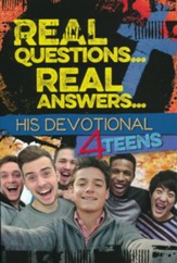 Real Questions... Real Answers: His Devotional 4 Teens    - Slightly Imperfect