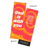 God is With You Bookmarks, Pack of 25