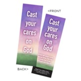 Cast Your Cares on God Bookmarks, Pack of 25