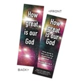 How Great is our God Bookmarks, Pack of 25