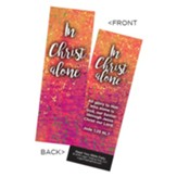 In Christ Alone Bookmarks, Pack of 25