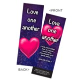 Love One Another Bookmarks, Pack of 25