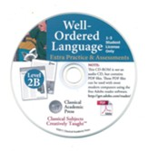 Well-Ordered Language Level 2B Extra Practice & Assessments PDF CD-ROM