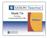 Saxon Teacher for Math 7/6, 4th Edition on CD-Rom