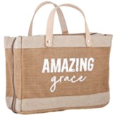 Amazing Grace Farmer's Market Tote Style Bible Cover
