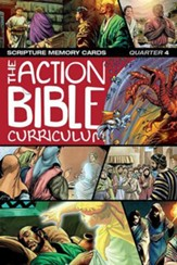 ESV Action Bible Scripture Memory Cards, Quarter 4