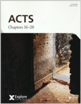 Explore the Bible: Acts, Chapters 16-28, Bible Study Book