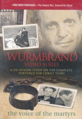 Wurmbrand DVD: A Six-Session Study on the Complete Tortured for Christ Story