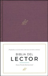 Biblia del Lector NVI, Tela Enc. Dura, Vino  (NVI Reader's Bible, Wine Cloth Over Board)