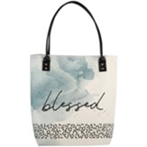 Blessed Canvas Tote